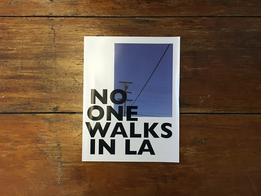no one walks in la cover